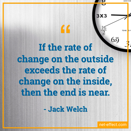 Change quote Jack Welch NetEffect