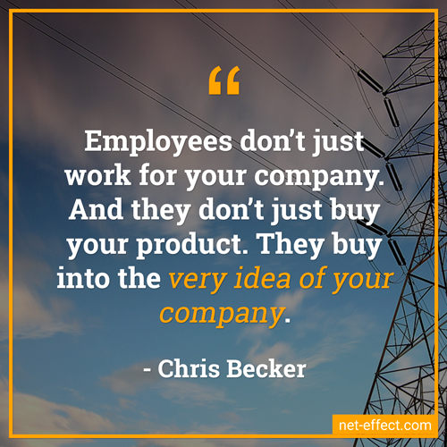 employees customers quote Chris Becker NetEffect